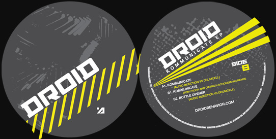 [DROID.05] Audio Injection Vs. Drumcell - Kommunicate EP