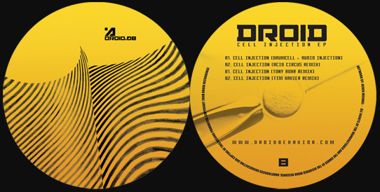 [DROID.08] Audio Injection & Drumcell Cell Injection EP