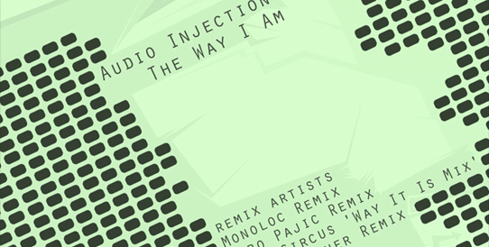 [DROID.DIGITAL.02] Audio Injection - The Way I Am EP